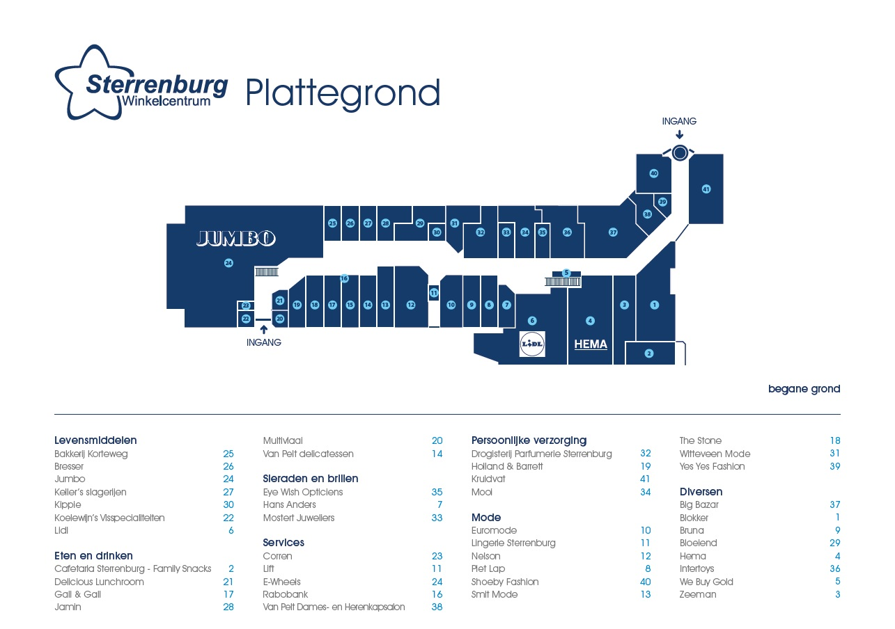 Plattegrond-Sterrenburg begade grond nov 2017